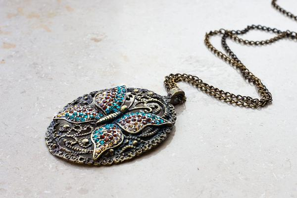 Biżuteria z motywem motyla