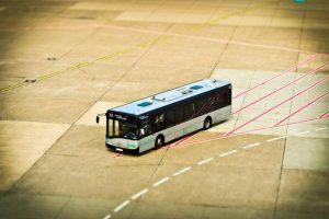 Autobusem do centrum Katalonii
