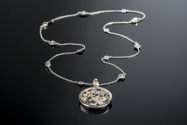 Stylowy naszyjnik – celebrytka ze srebra