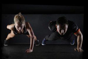 Podłoga do treningu fizycznego